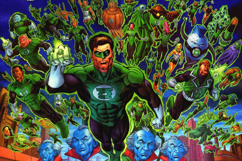 All the Green Lanterns