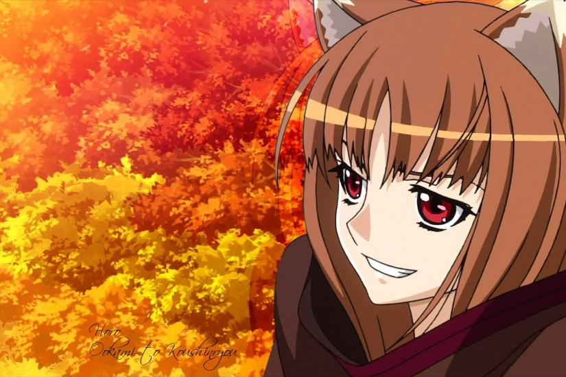 Spice and Wolf HD Wallpaper