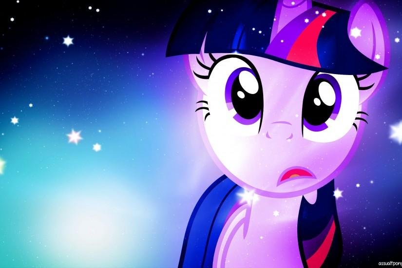 twilight sparkle, wallpaper, shocked, art, assualtpony