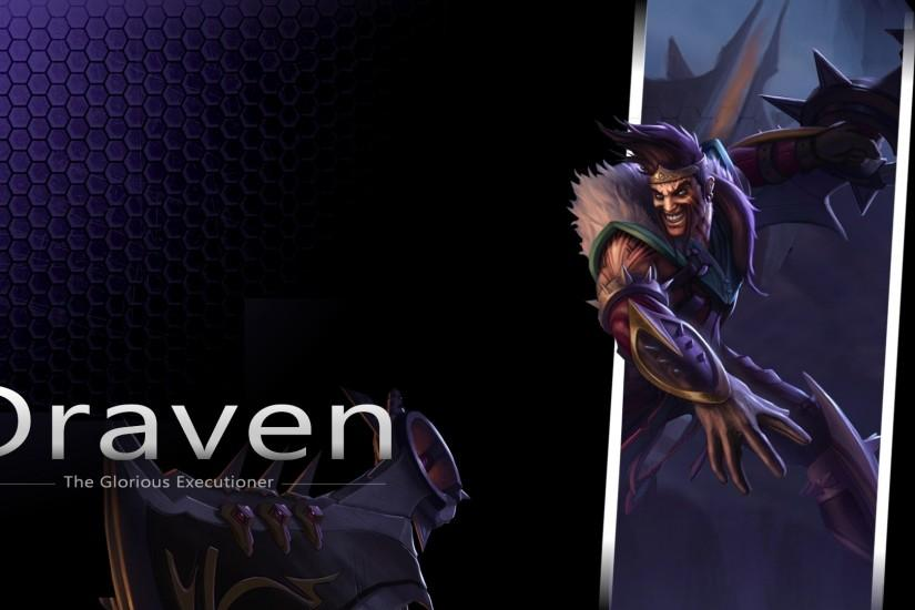 League Of Legends Draven Wallpaper Free HD Desktop and Mobile Wallpaper