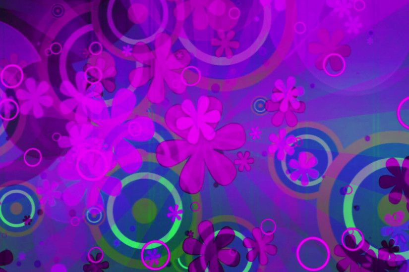 Fun bright new retro animated abstract looping CG backdrop in magenta and  blue