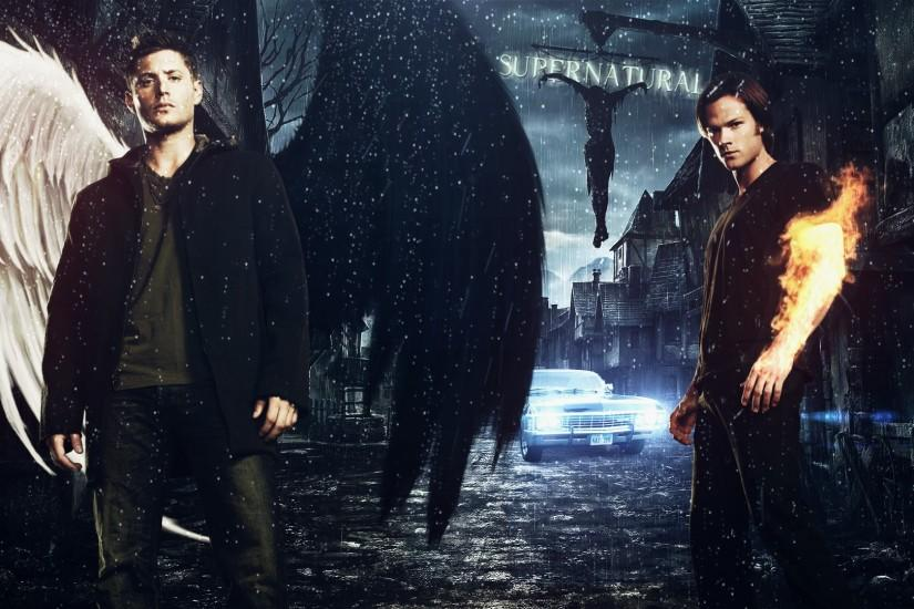 Supernatural, Angel Wallpaper HD