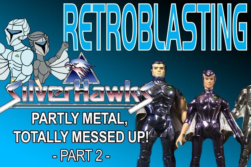 Silverhawks: Vintage Toy Review - Part 2 of 2 Kenner 1980s Toys - YouTube