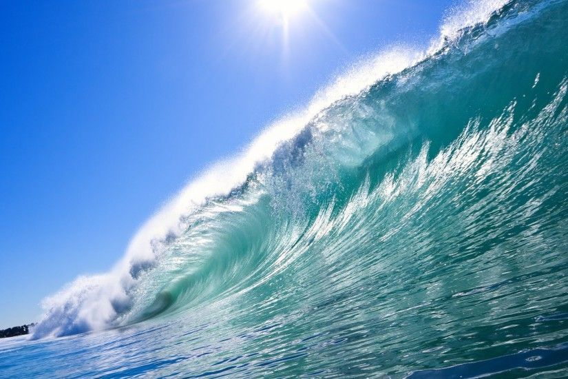 Wave surf sea ocean wallpapers HD.