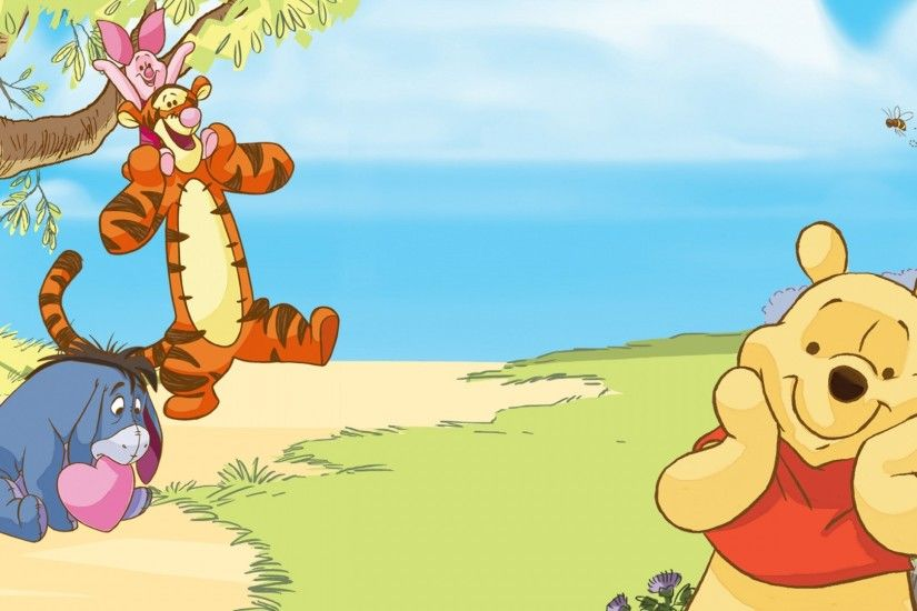 Winnie The Pooh Disney Quotes Wallpaper