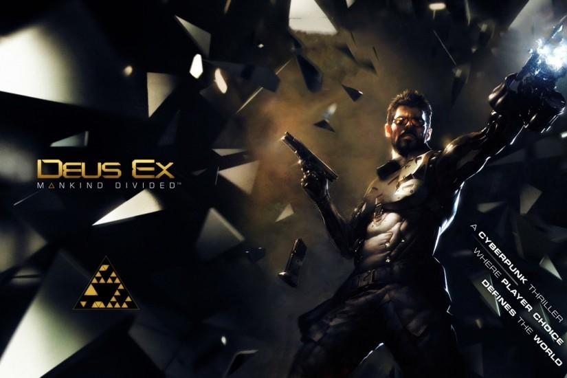 Adam Jensen Deus Ex: Mankind Divided · HD Wallpaper | Background ID:589953