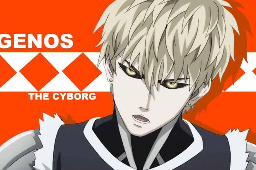 Genos Anime One Punch Man HD Wallpaper #2657
