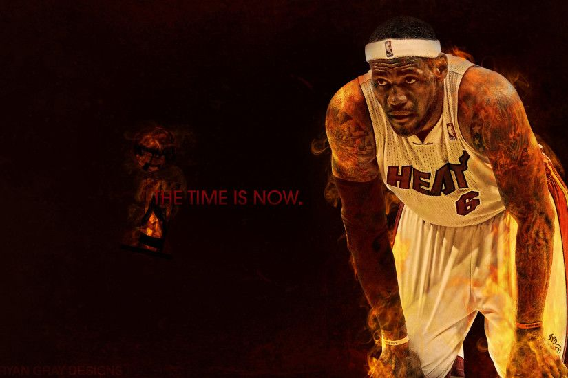 Lebron James Miami Heat Wallpaper