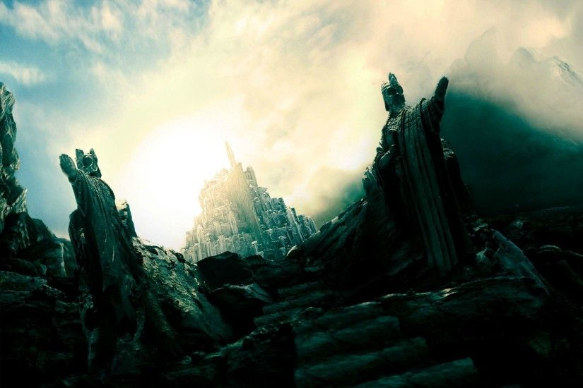 Download wallpaper film, Lord of the Rings, Gondor, JRR Tolkien .
