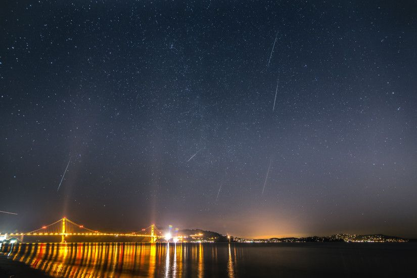 2012 Geminid Meteor Shower, San Francisco
