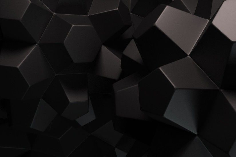 Black Abstract Wallpaper 1920x1080