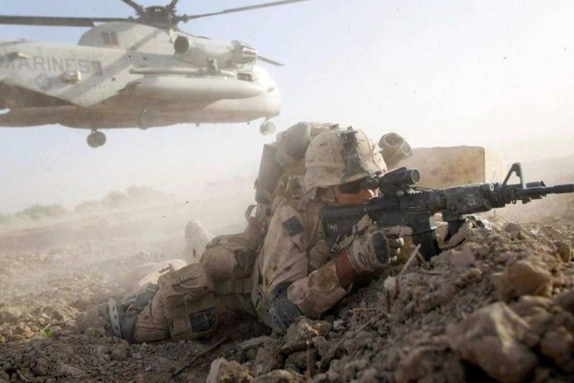 1920x1080 US Marines in Afghanistan. Combat Footage 1080p - Intense  Firefights Against Taliban - YouTube