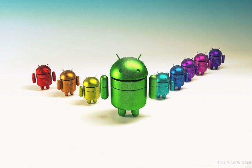 Android Team HD Wide Wallpaper for Widescreen