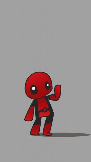 deadpool cartoon wallpaper #669059