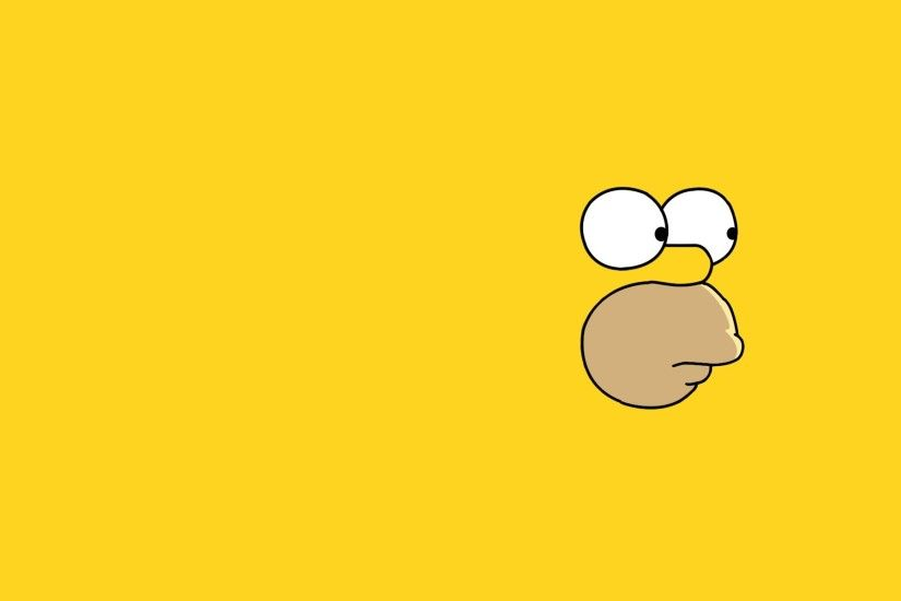 simpsons wallpaper yellow. Â«Â«