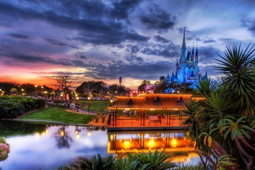 Disney town HD Desktop Wallpaper
