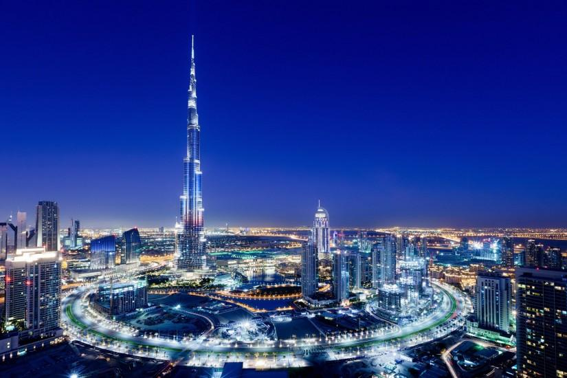 Burj Khalifa Buildings Dubai City Night Full HD Wallpaper Free - Download  Burj Khalifa Buildings Dubai City Night Full HD Wallpaper