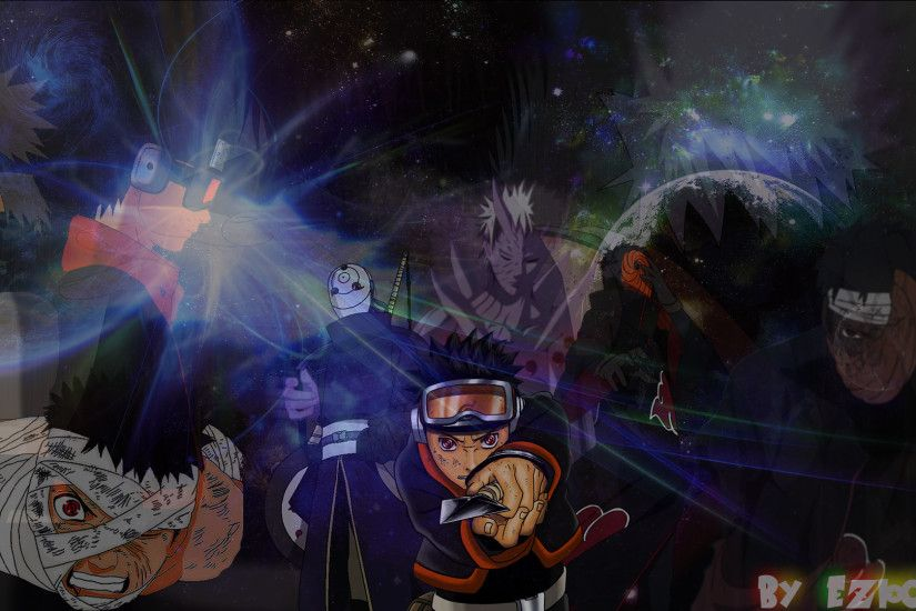 ... Obito Uchiha - The Man behind the Mask (Wallpaper) by eziocaval
