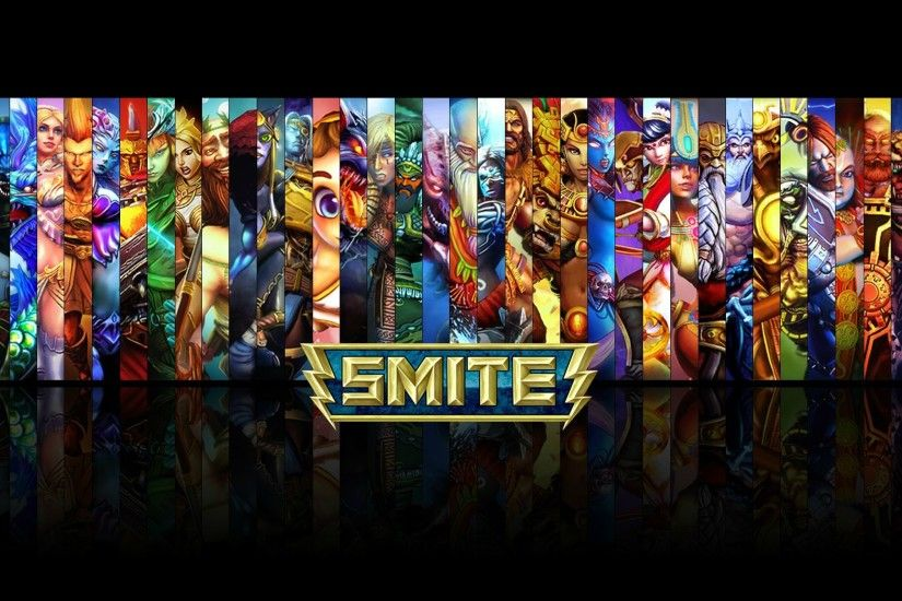 ... Images SMITE - All Gods Wallpaper (with Fafnir) by Getsukeii on  DeviantArt ...