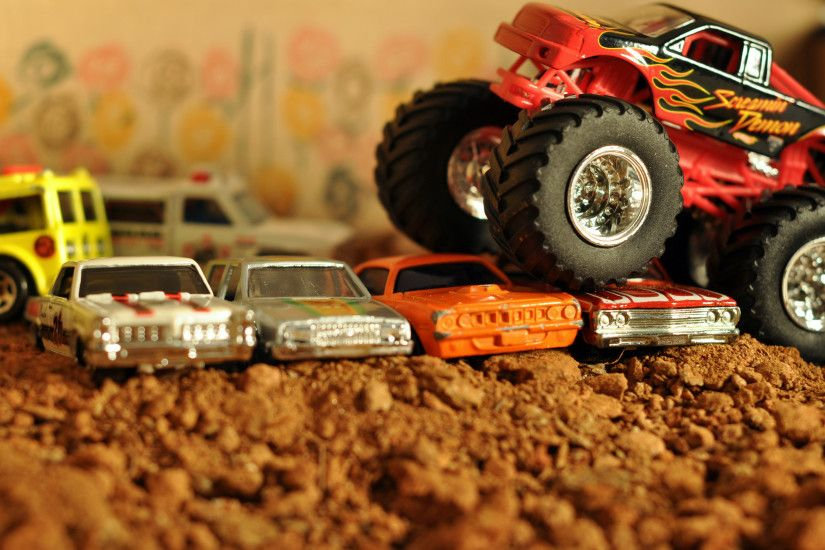 Hot Wheels Matchbox Monster Trucks