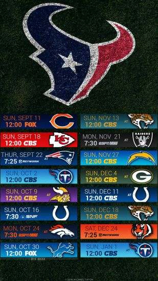 nfl 2016 houston texans iphone android turf schedule background ...