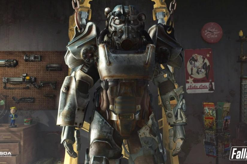 fallout 4 armor wallpaper 6703