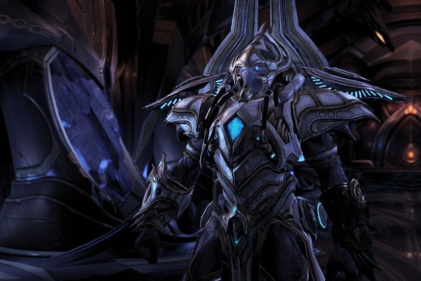 Starcraft II, Artanis, Protoss Wallpapers HD / Desktop and Mobile  Backgrounds