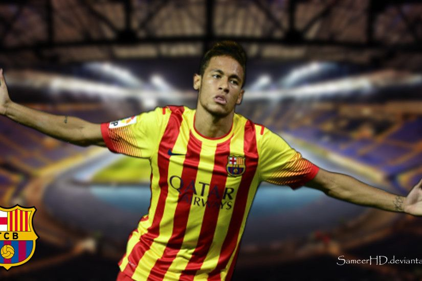Wonderful FC Barcelona Neymar Trikot Kinder – FC Barcelona Wallpaper HD  2017 SBN3