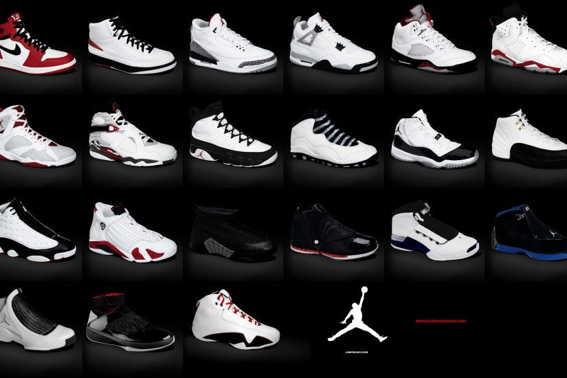 Jumpman23 - History of Air Jordans Wallpaper