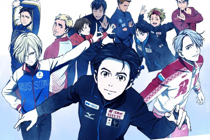HD Wallpaper | Background ID:735409. 2000x1613 Anime Yuri!!! On Ice