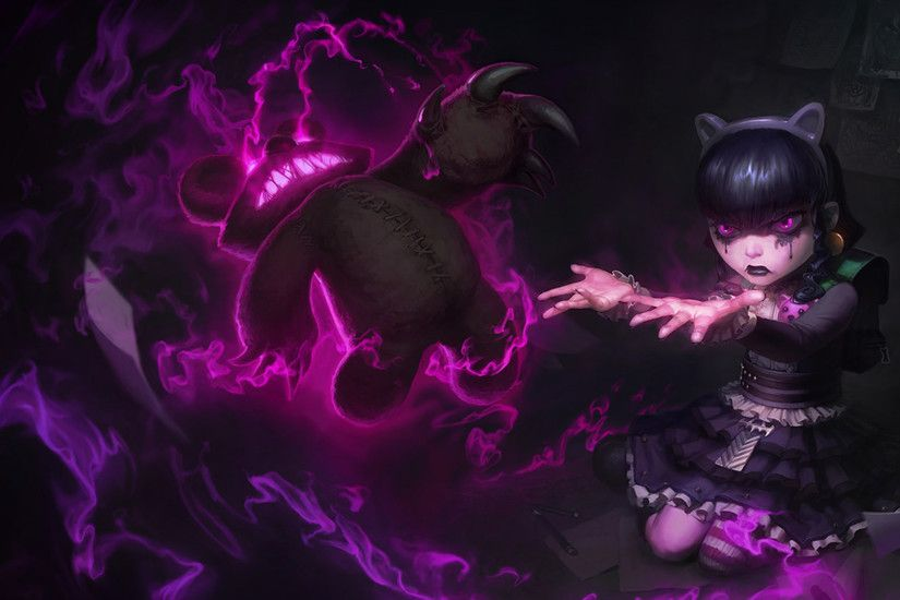 Goth Annie Splash Art League of Legends champion wallpaper. Find more HD  LoL desktop backgrounds in our wallpapers gallery.