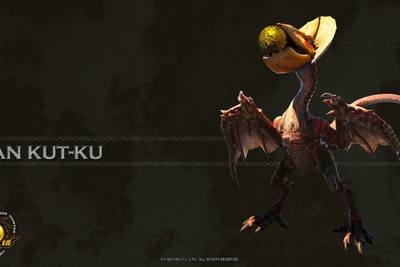 Image - MH 10th Anniversary-Yian Kut-Ku Wallpaper 001.jpg | Monster Hunter  Wiki | FANDOM powered by Wikia