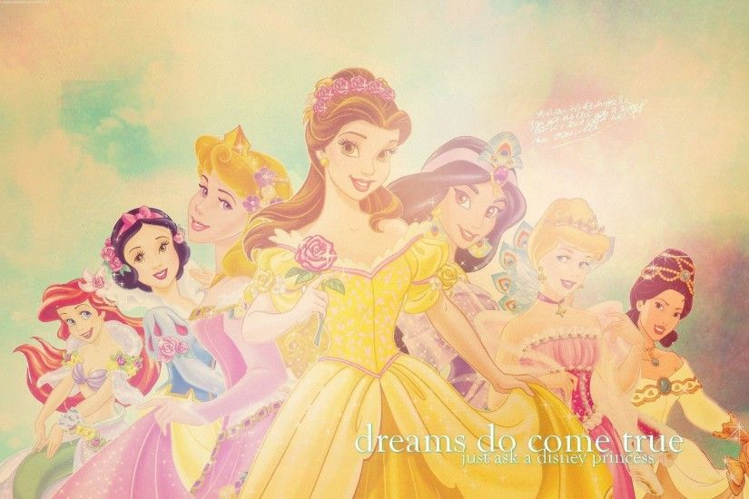 Disney Princesses - Disney Princess Wallpaper (7250269) - Fanpop