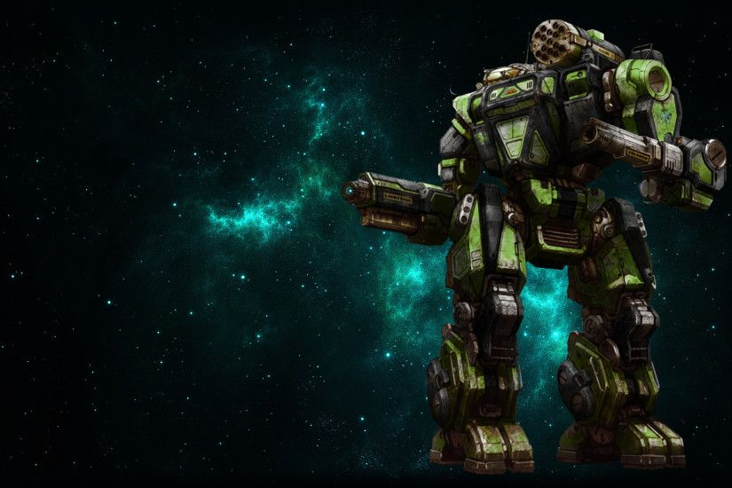 ... MWO Summoner (Thor) Wallpaper by Odanan