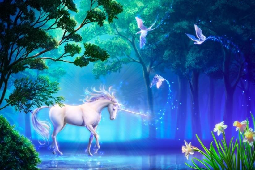 Fantasy Unicorn Wallpaper Hd Images & Pictures - Becuo