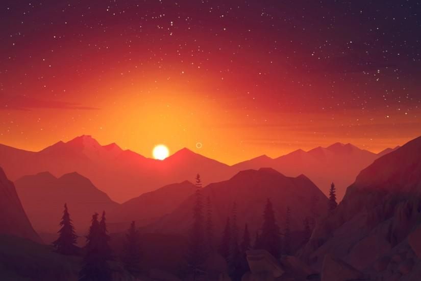 beautiful firewatch wallpaper 1920x1080 cell phone