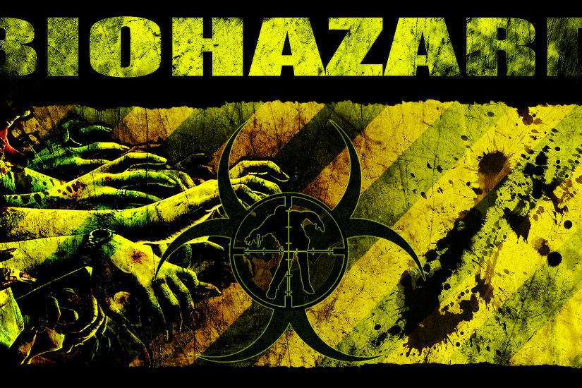 Biohazard Symbol Hd Wallpaper Picswallpapercom - vunzooke. | Cool .