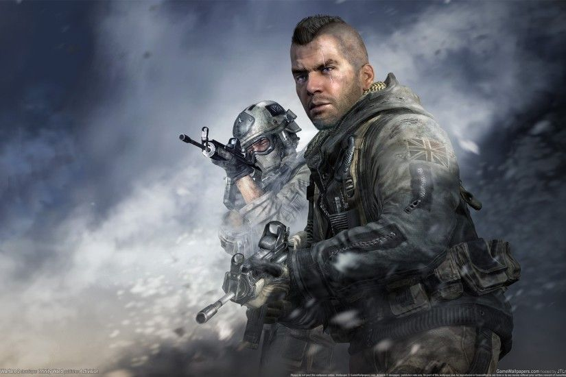 Call Of Duty Modern Warfare 2 Soap 278850
