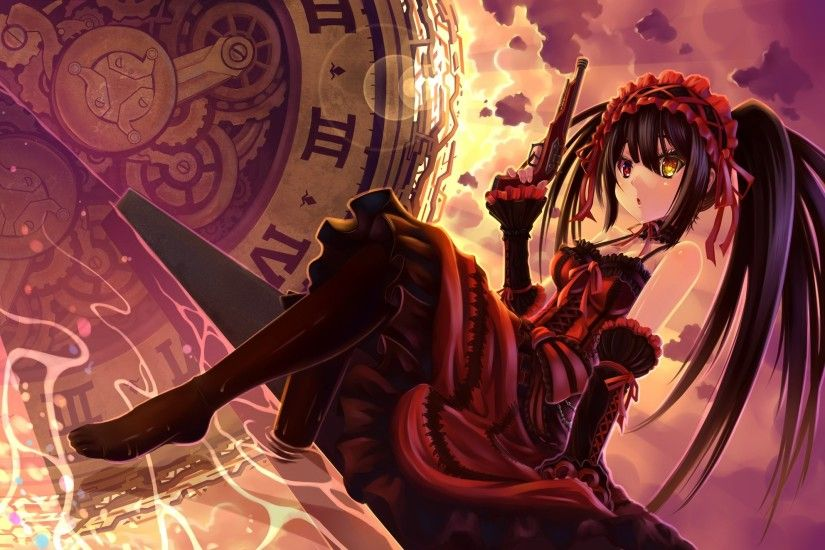 400 Date A Live HD Wallpapers | Backgrounds - Wallpaper Abyss - Page 2  Kurumi Wallpaper on WallpaperGet.com ...
