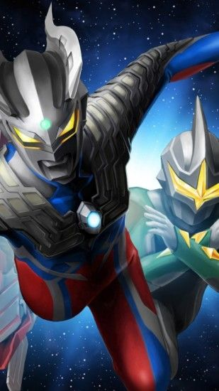 Ultraman Wallpaper iPhone 6 Plus - 306.1KB