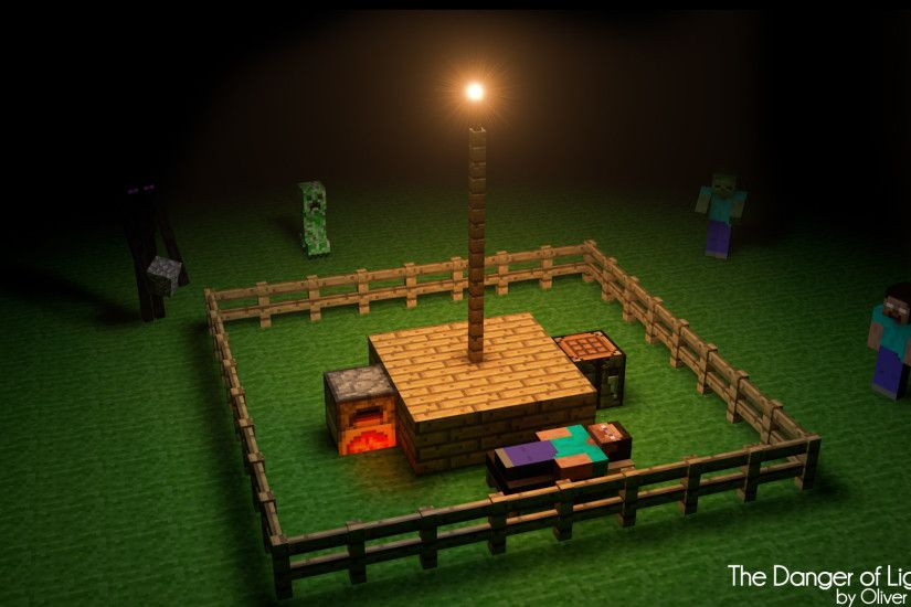... Minecraft Wallpaper by zackpro on DeviantArt ...
