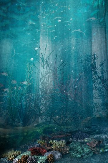 ... Premade BG Under The Sea 1 by Georgina-Gibson