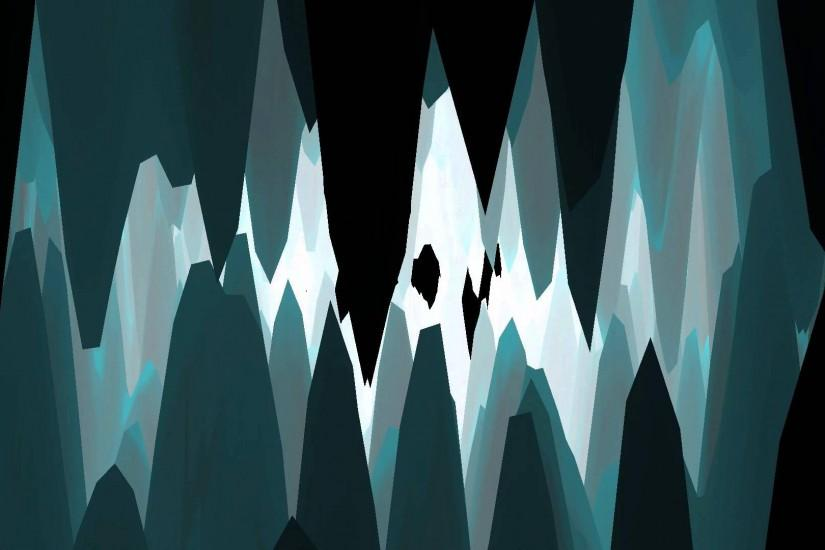 Club Visuals 562 - Into The Ice Cave Free Motion Animation HD
