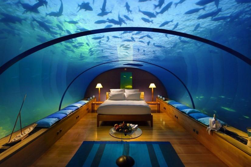 Bedroom under Sea Wallpapers Pictures Photos Images. Â«