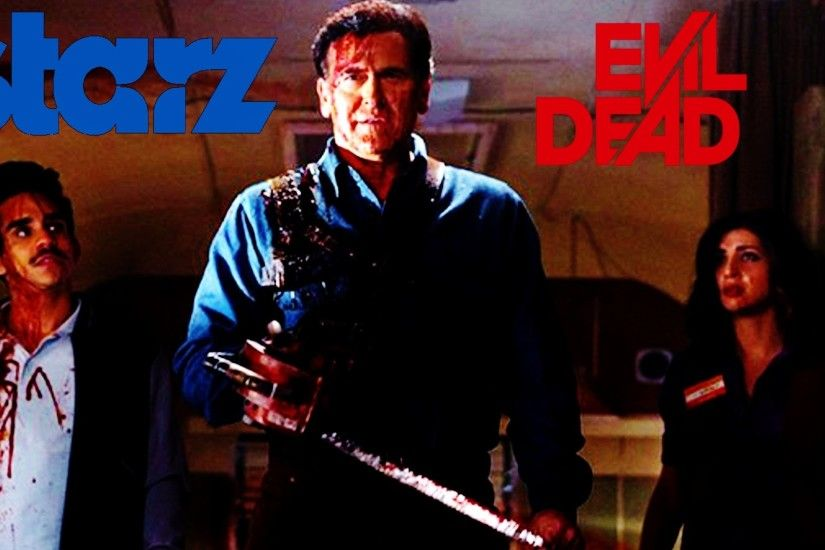Ash Vs Evil Dead: First Look At Bruce Campbell In Ash Vs Evil Dead  (Thoughts - YouTube