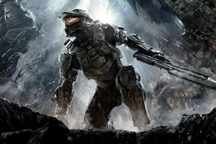 Halo, Video Games, Gun, Master Chief Wallpaper HD