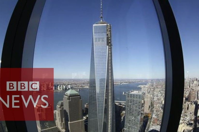 September 11: New World Trade Center rises from ashes - BBC News - YouTube