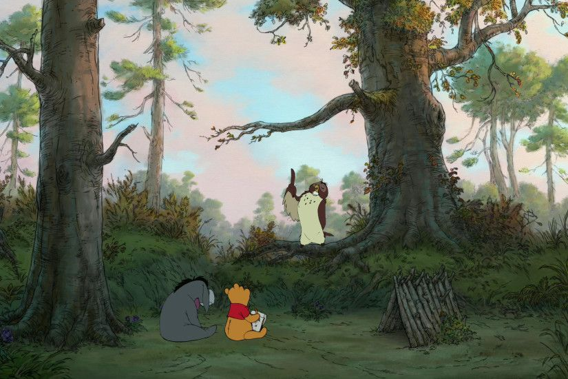 Winnie The Pooh Movie 2011 wallpaper
