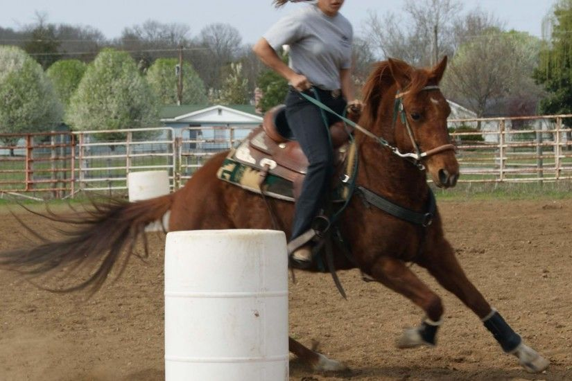 Practice Barrel Racing