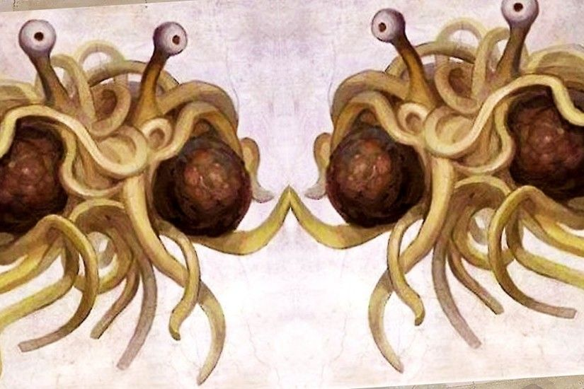 The Flying Spaghetti Monster Is Too Controversial For This London School -  YouTube